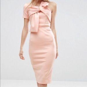 NWT ASOS One-Shoulder midi dress